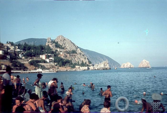 Крым 1965 год СССР, Крым, Длиннопост, Гурзуф, Фотография, Ностальгия, Курорт, Отпуск