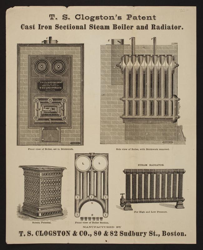 Живу в викторианской домике 1874года. Батарея парового отопления запатентована в 1864 году. Работает с момента постройки Отопление, Батарея