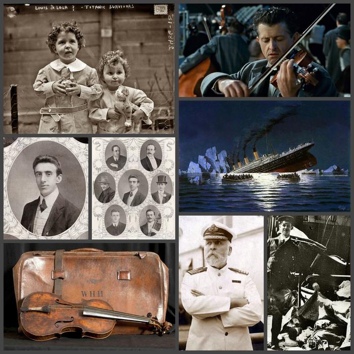 Он тонул под реквием «Ближе к Тебе, Господи», исполняемый оркестром. Титаник, Музыка, Смерть, Длиннопост