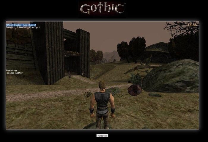 Прототип Gothic (Готика) в браузере Готика, Браузерные игры, Онлайн-Игры, RPG, Open source, Длиннопост