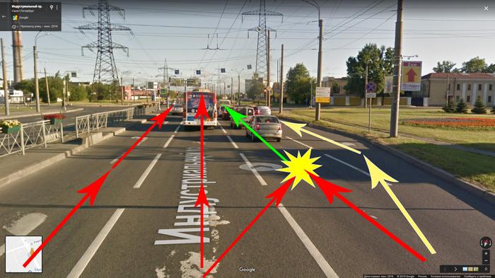 Перекрестки в нашей большой, но не умной стране Идиотизм, Российские дороги, Дураки и дороги, Проектирование, ДТП, Длиннопост