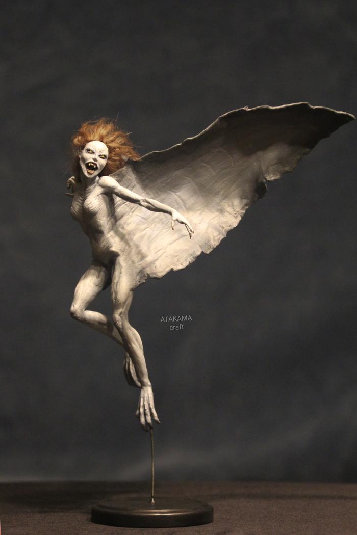 Маришка (Ван Хельсинг) - фигурка ручной работы Ван Хельсинг, Дракула, Вампиры, Рукоделие с процессом, Фигурка, Ужасы, Ручная работа, Длиннопост