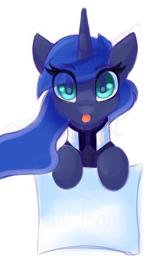 MLEm My Little Pony, Princess Luna, Shadowreindeer