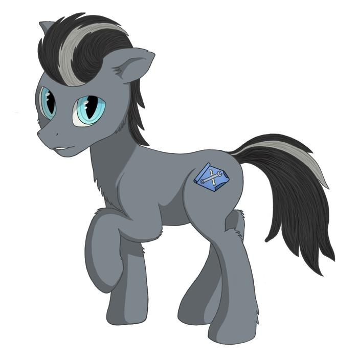 Sheldon Grant (OC) My Little Pony, Перерисовка, Original Character, Ponyart