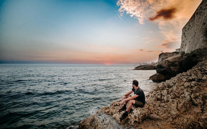 Немного Адриатики вам в ленту Черногория, Море, Фотография, Лето, Отпуск, Ульцынь, Длиннопост