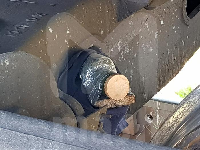 В грузовом поезде в Воронежской области обнаружили настоящую бомбу с замедлителем Новости, Бомба, Воронежская область, Ревякино, Поезд, Вагон, РЖД, Длиннопост