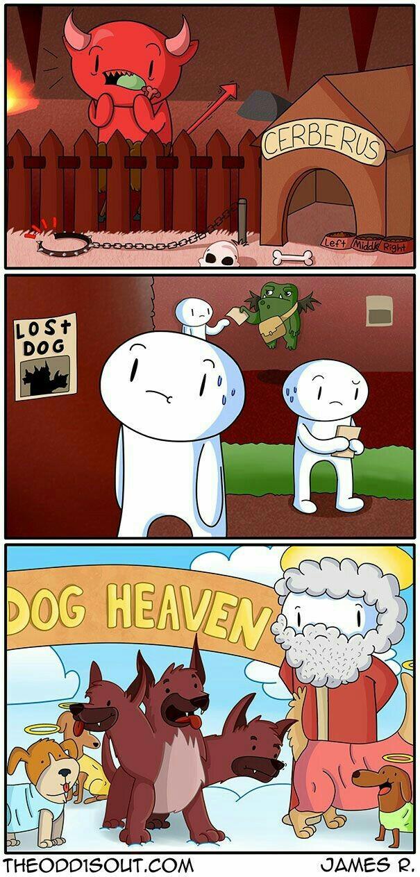 Хороший мальчик заслужил рай Хороший мальчик, Собака, Комиксы, Theodd1sout
