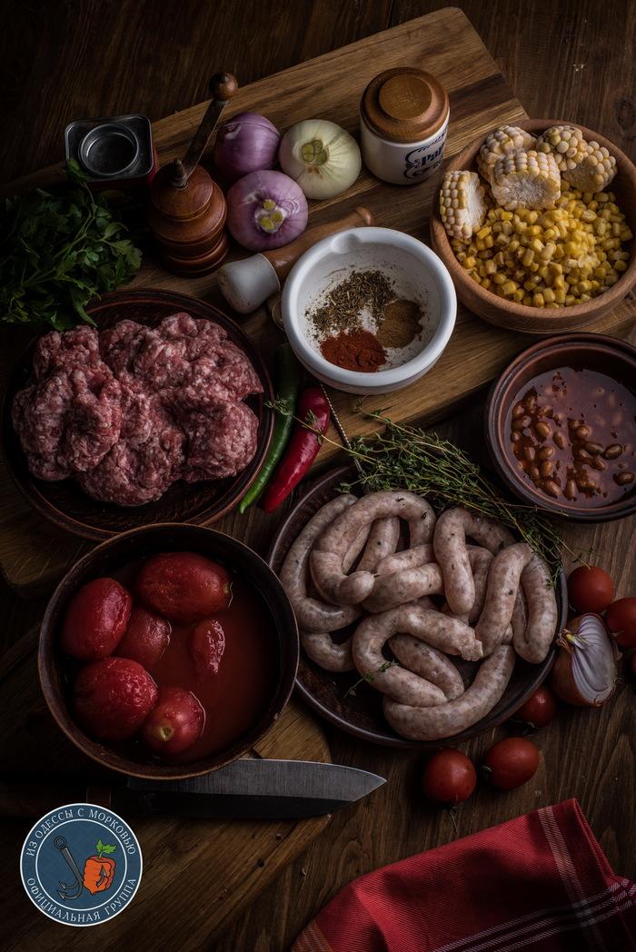 Рагу одинокого ковбоя Из Одессы с морковью, Рецепт, Кулинария, Еда, Длиннопост, Фотография, Мясо