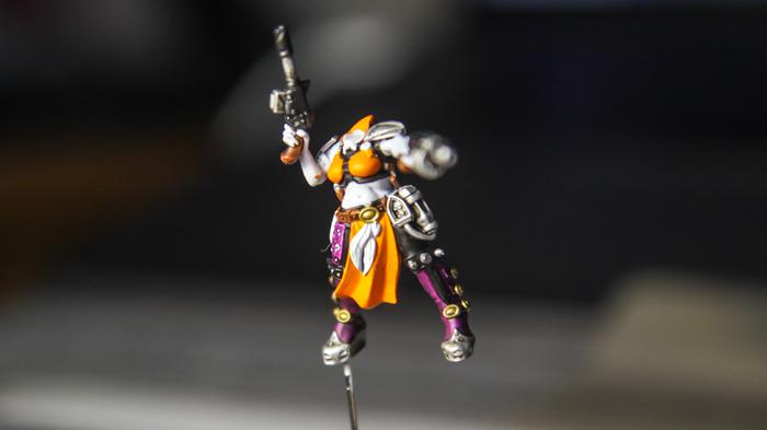 Necromunda: Underhive или как я 3 недели красил свою банду -_- Длиннопост, Warhammer 40k, Миниатюра, Покраска миниатюр, Wh Miniatures, Underhive