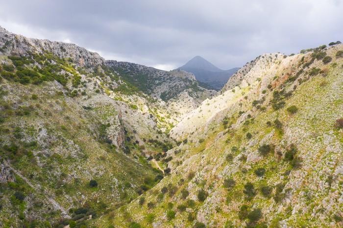 Крит Дрон, Квадрокоптер, Крит, Греция, Фотография, Горы