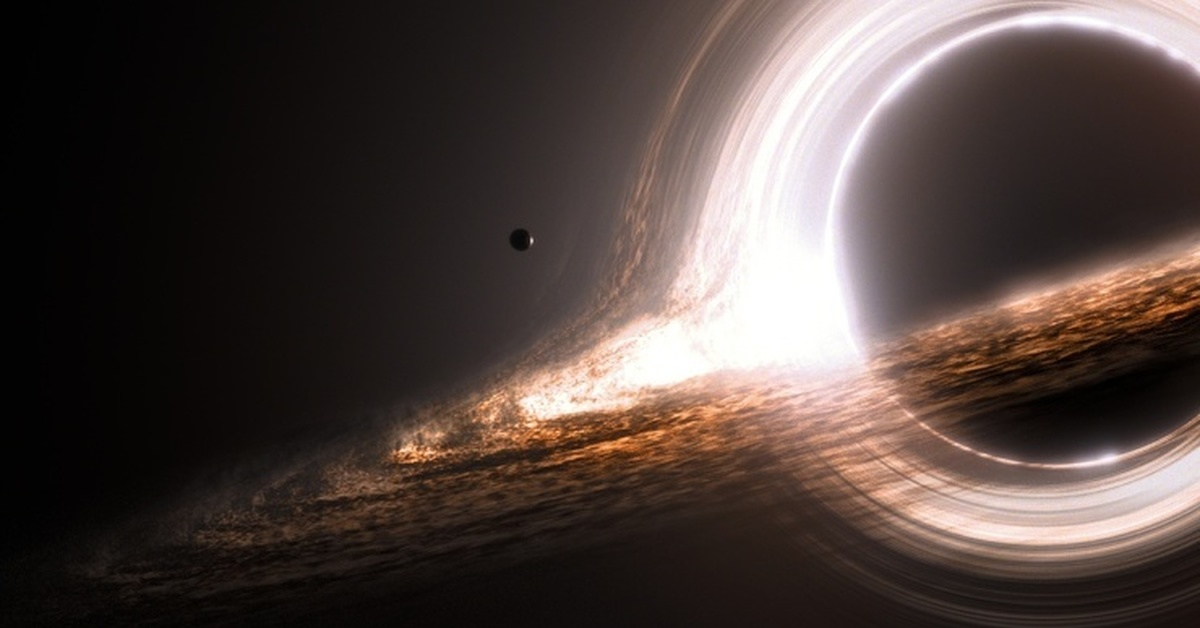 black hole picture - HD 1920×1080