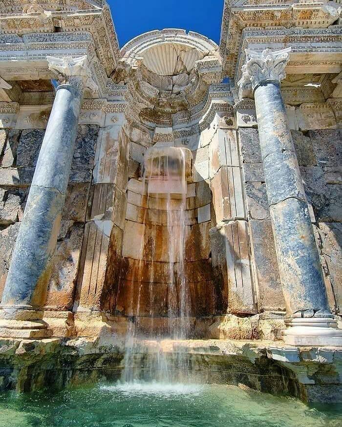 Вода течет уже 2000 лет, Бурдур, Турция