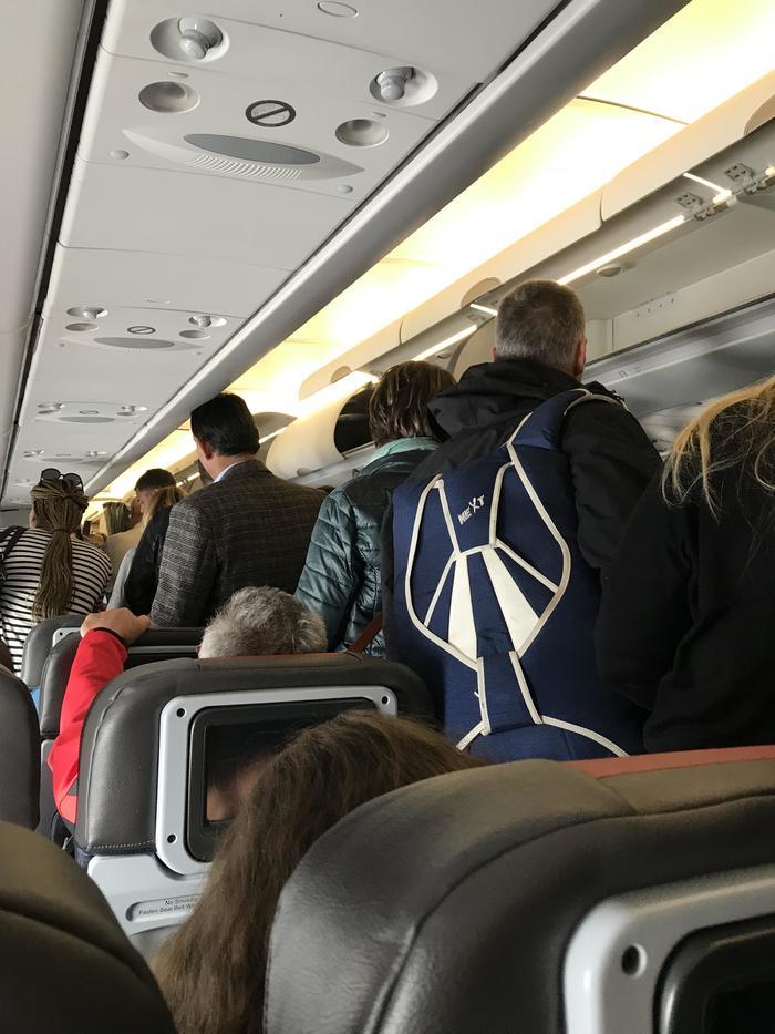 Пассажир с парашютом