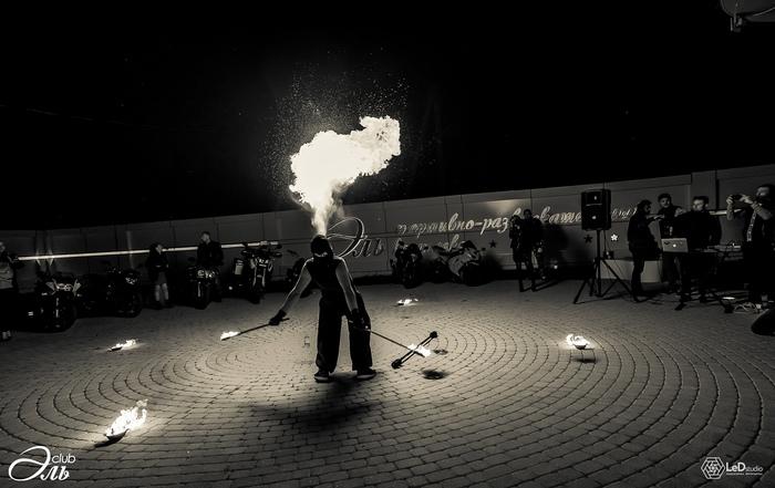 Немного черного-белого огонька Фаершоу, Fire, Черно-Белое фото, Огонь, Хобби, Эстетика