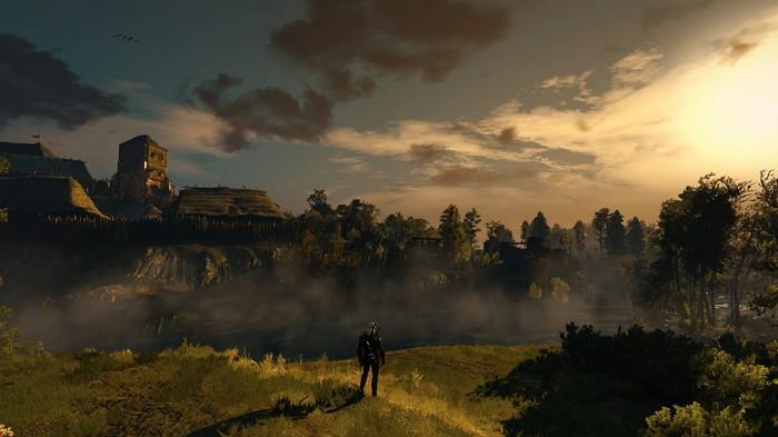 Природа в Ведьмаке Ведьмак 3, Скриншот, Пейзаж, Красота, Игры, Природа, Бунт
