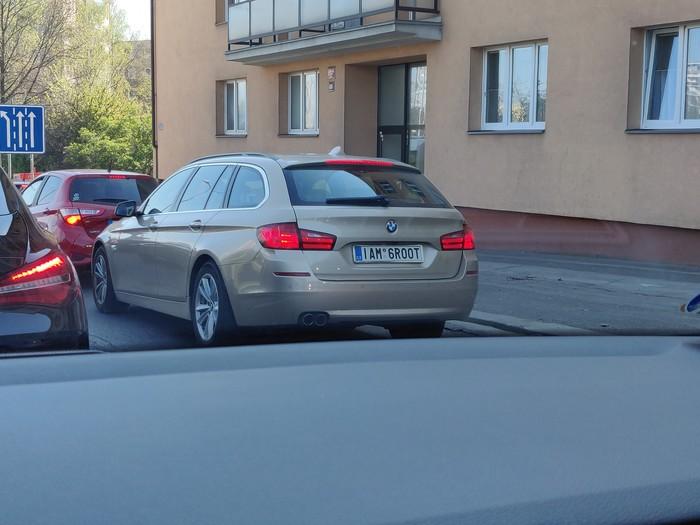 Забавные номера Чехия, Авто, Автомобильные номера