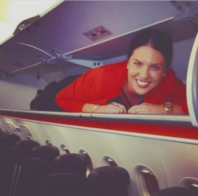 Стюардессы показали, чем занимаются, пока рядом нет пассажиров Стюардесса, Посвящение, Умора, Длиннопост