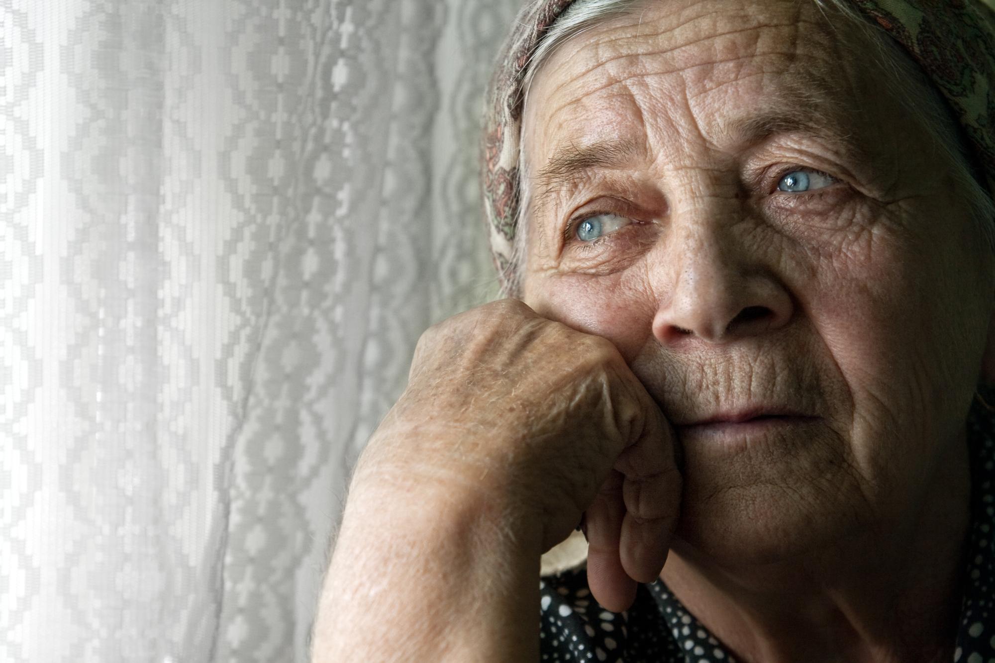 фото одиноких стариков ролика заявляет, что