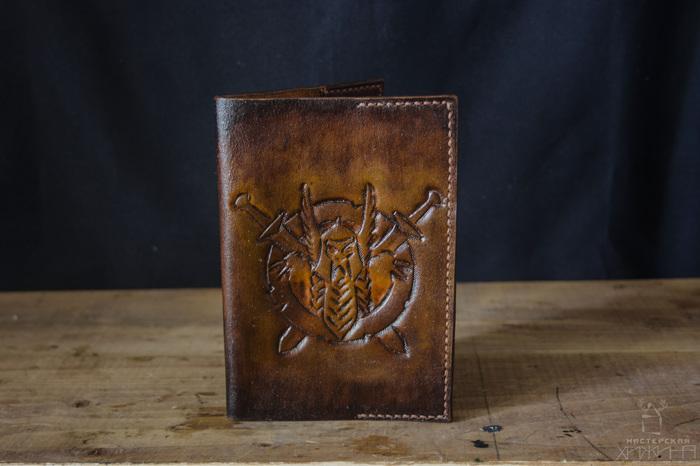 Обложки на паспорт:) Изделия из кожи, Кожа, Кожаная обложка для паспорта, Arthizh, Рукоделие без процесса, Длиннопост
