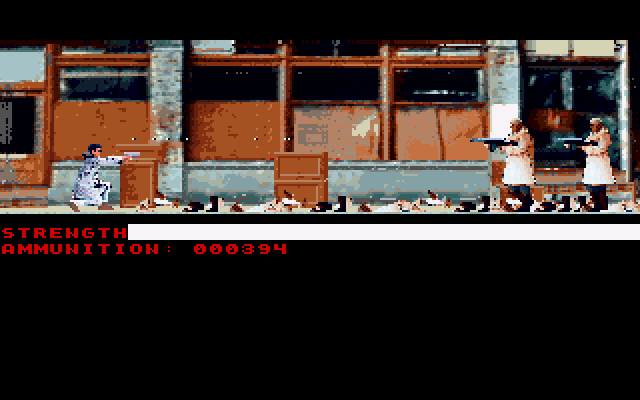Mean Streets. Часть 1 1989, Прохождение, Игры для DOS, Компьютерные игры, Киберпанк, Квест, Ретро-Игры, Игры, Длиннопост