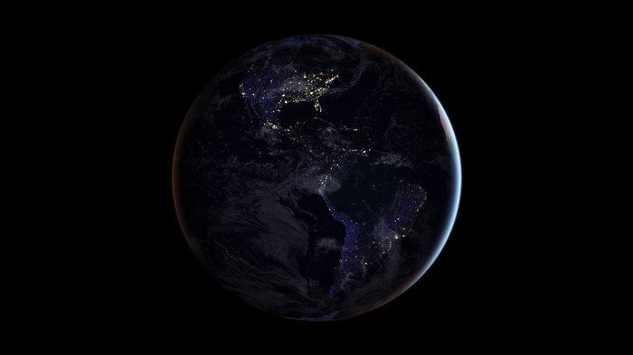 Тёмная жемчужина... NASA, Планета Земля, Фотография, Космос