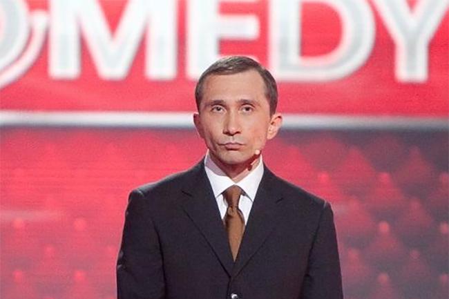 Президент Украины, к вам прибыл на встречу президент России.