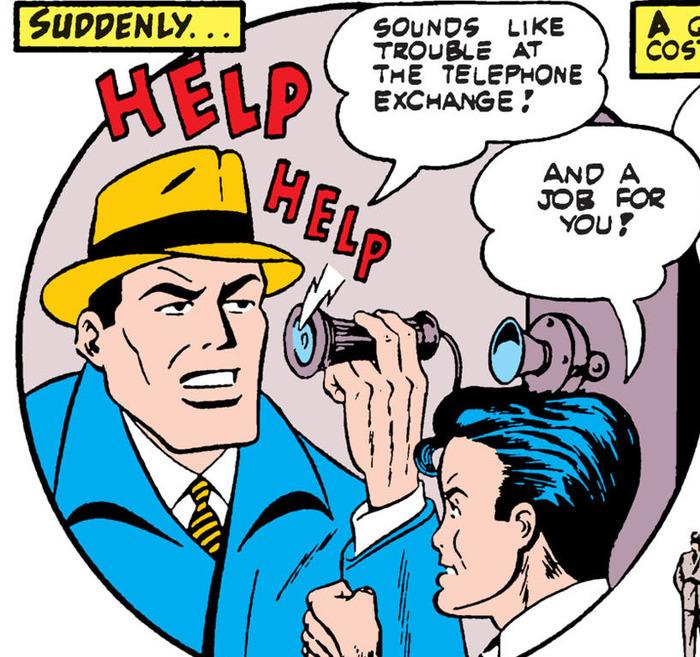 Небольшое напоминание о возрасте комиксов про Бэтмэна. Супергерои, DC Comics, Бэтмен, Телефон