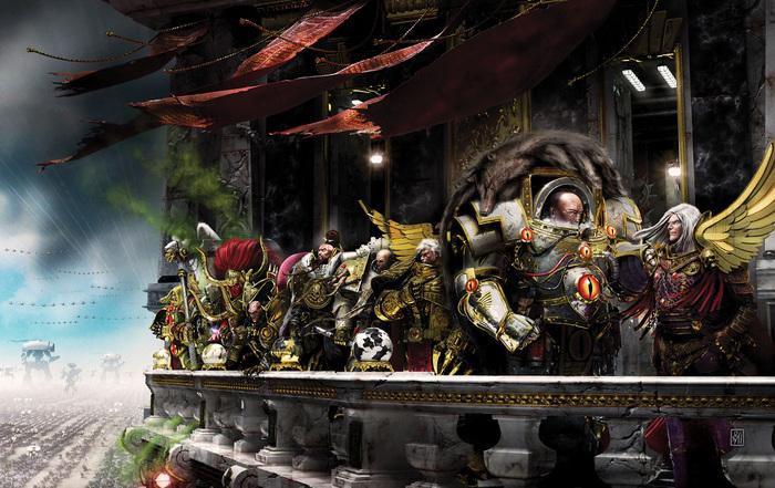 Хроника Ереси Хоруса. Потерянные Легионы Warhammer 40k, Warhammer 30k, Horus Heresy, Длиннопост
