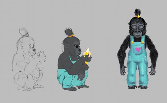 Проект: эволюция человека для детей Антропогенез, Эволюция, Мультфильмы, Гифка, Видео, Длиннопост