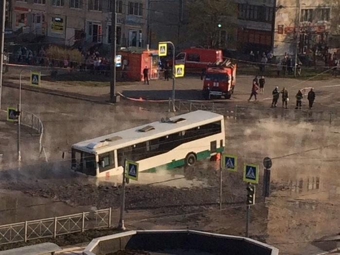 В Санкт-Петербургеслучилась крупная коммунальная авария! Санкт-Петербург, Новости, ЧП, Длиннопост