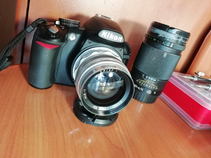 Адаптация объектива Мир-1 на систему Nikon Советская оптика, Объектив, Мир-1, Ремонт техники, Длиннопост