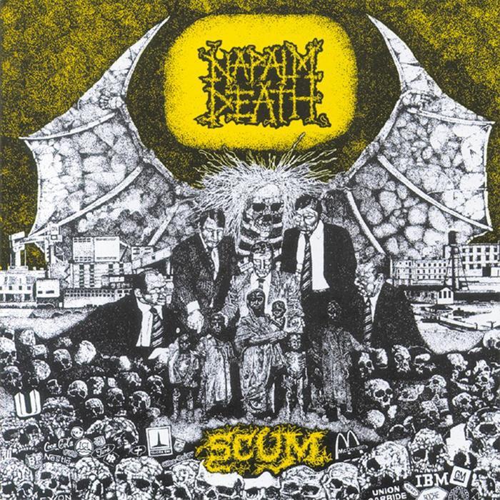 Кишки, смерть, сырое мясо... Коротко об одном из самых странных стилей метала - Grindcore. Grindcore, Metal, Панк-Рок, Napalm Death, Видео, Длиннопост, Текст