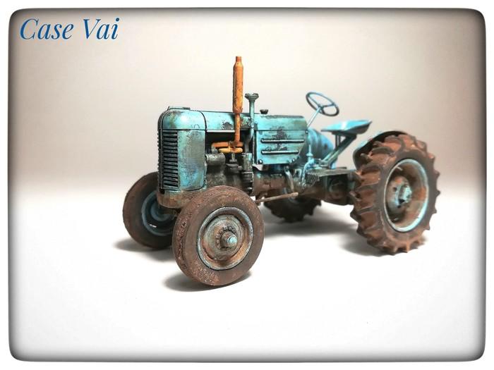 Трактор Case Vai, 1/35. Модели, Трактор, Thunder, Стендовый моделизм, Длиннопост