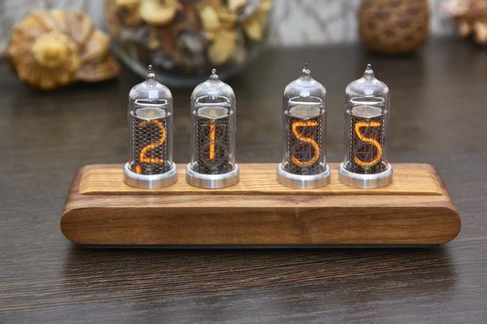 Часы на газоразрядных индикаторах Часы, Время, Газоразрядный, Индикаторы, Nixie clock, Tube