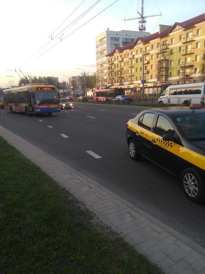 Работа водителем троллейбуса. Бывает и так №2.. Гродно, Беларусь, Работа, Троллейбус, ДТП, Длиннопост