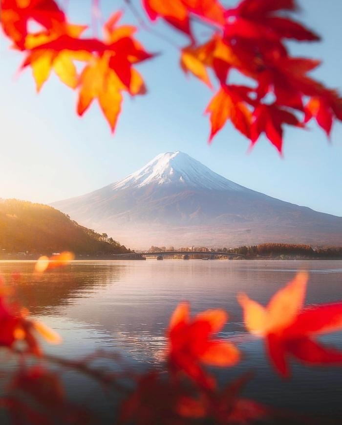 Осень, Фудзи, Япония