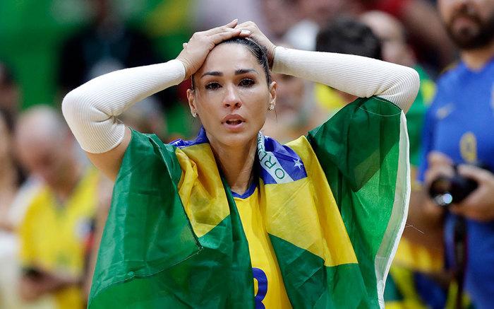 Секс волейбол бразилия