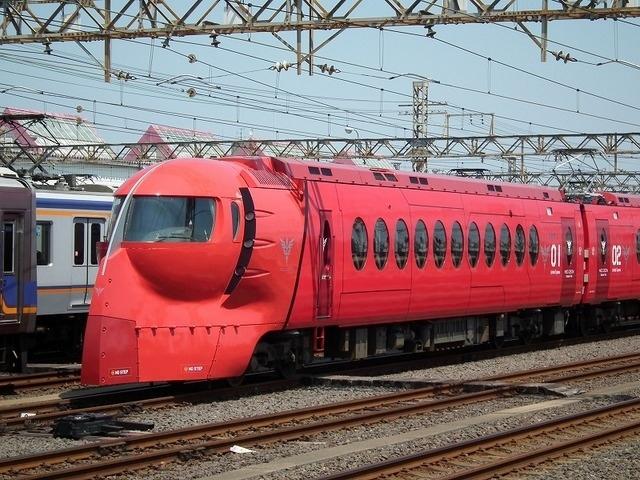 Японская железнодорожная дичь Железная Дорога, Япония, Аниме, Gundam, Gundam Neo Zeon, Подвижной состав