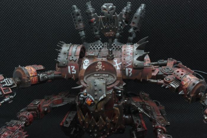 К рубилову готовы! Waaagh!, Warhammer 40k, Миниатюра, Покраска миниатюр, Орки, Хобби, Длиннопост