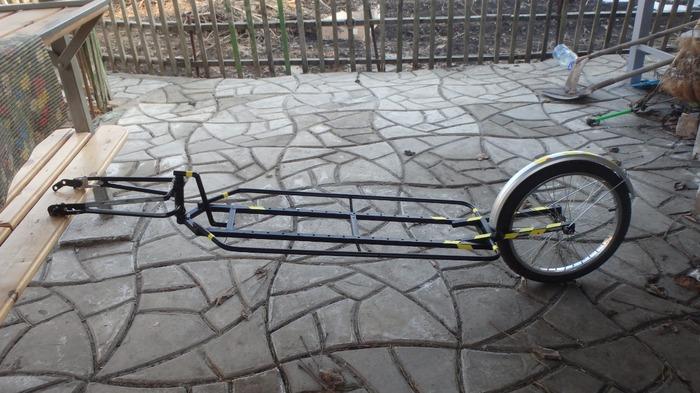 Велоприцеп для SUP Велосипед, Велопутешествие, Велоприцеп, Длиннопост