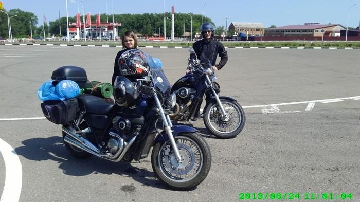 Как две четырехсотки решили прокатиться из Краснодара в Самару. Мотоциклы, Путешествие по России, Мотопутешествие, Длиннопост