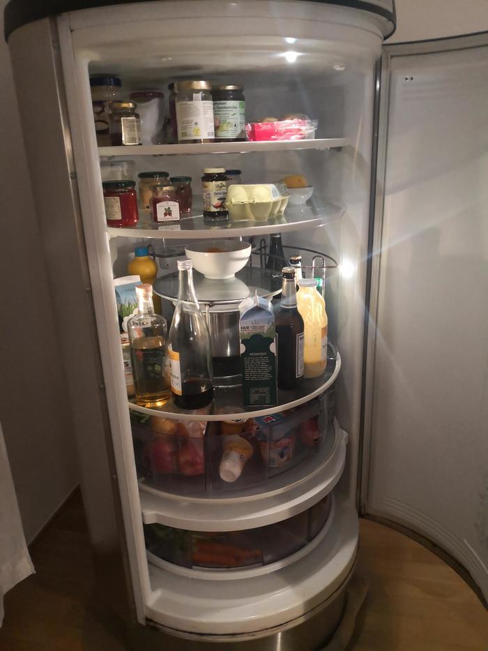 Удобный холодильник Reddit, Холодильник