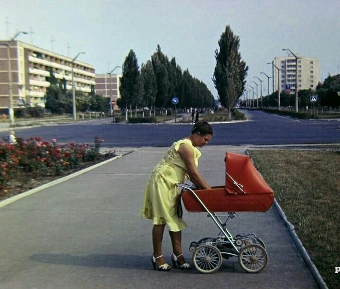 Город Припять до аварии на Чернобыльской АЭС. Начало 80-х Припять, СССР, 80-е, Длиннопост