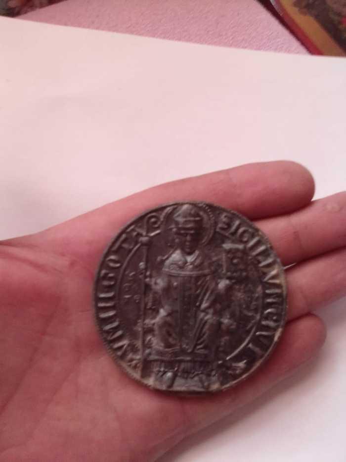 Нашли монету Монета, Находка, Длиннопост, Нумизматика, Что за монета