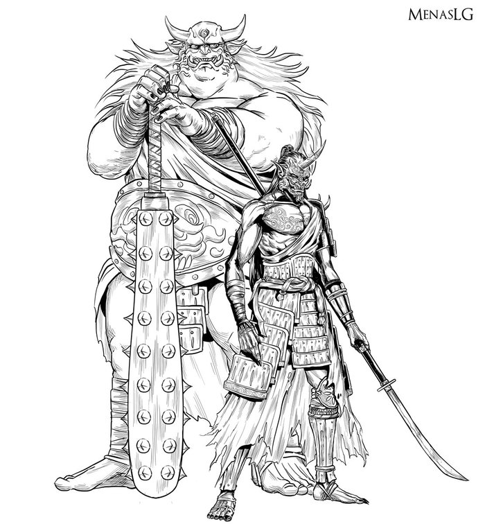Ornstein & Smough, if they were in Sekiro Menaslg, Dark Souls, Dragon Slayer Ornstein, Executioner Smough, Sekiro: Shadows Die Twice, Игры, Арт, Crossover, Длиннопост