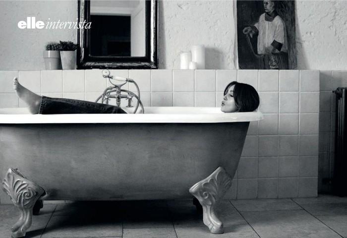 Моника Беллуччи для Elle. Моника Беллуччи, Актриса, Фотосессия, Журнал, Elle, Длиннопост