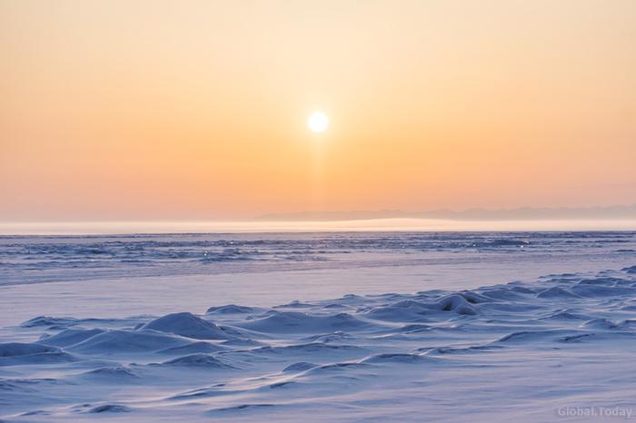 Рассветы на Байкале Байкал, Байкальск, Иркутск, Природа, Пейзаж, Фотография, Длиннопост