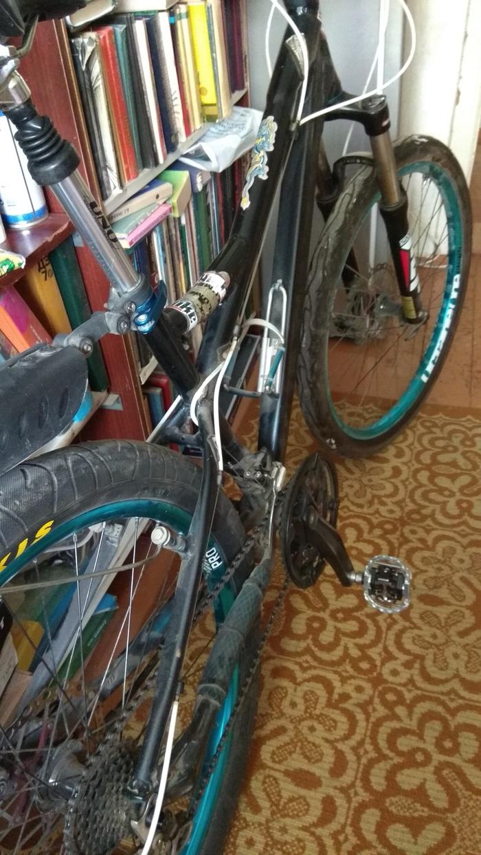 Начало покатушек после 3 лет безделья. Велосипед, Маунтинбайк, Длиннопост