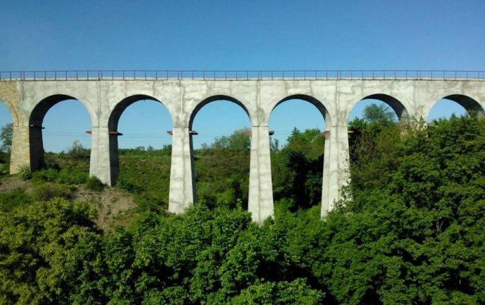 Мост-виадук в Луганской области Виадук, Луганская область, ЛНР, Украина, Мост, Длиннопост