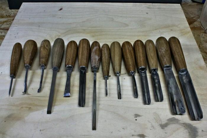 Пост для тех, кто спрашивал, каким инструментом я работаю. Или вы думали, что действительно грызу зубами?) Инструменты, Резьба по дереву, Самоделки, Стамеска, Мастерская, Рабочие моменты, Длиннопост